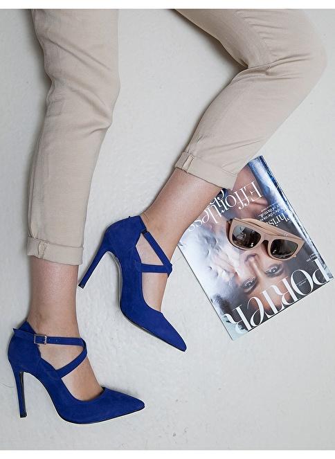 Mecrea Ayakkabı Saks